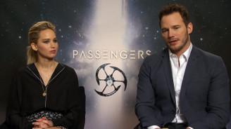 Jennifer Lawrence ve Chris Pratt'den Passengers röportajı