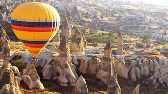 Kapadokya'yı 8 ayda 150 bin turist kuşbakışı izledi