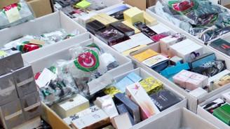 Kaçak parfümler gümrüğe takıldı