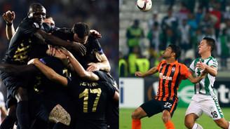 UEFA Avrupa Ligi gecesinde hüzün ve sevinç