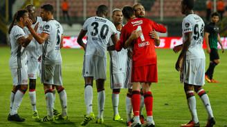 Beşiktaş 3 puanla döndü