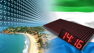 Reklamcılık malzemelerine Sierra Leone ilgisi
