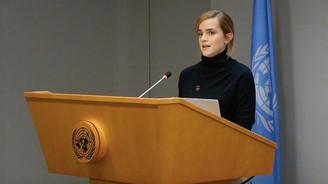 Emma Watson cinsiyet eşitliği için BM'de konuştu