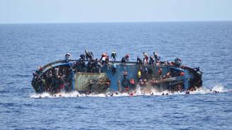 600 kişilik tekne battı: 450 kişi kayıp