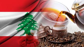 Türk çayı ve kahvesi Lübnan'da rağbet görüyor