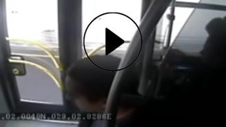 Metrobüste kazaya neden olan kavga