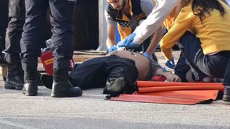 İstanbul trafiğini kilitleyen intihar