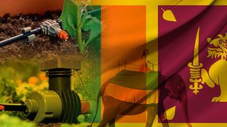 Sri Lanka toprakları Türk malı sistemlerle sulanacak