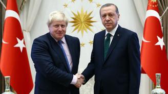 Erdoğan, Johnson'ı kabul etti