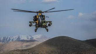 Bomba yüklü aracı ATAK helikopteri imha etti