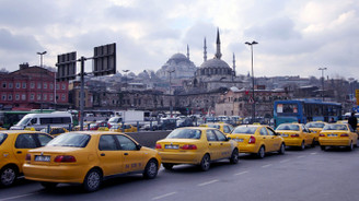 Taksicilerden eski tarifeli protesto