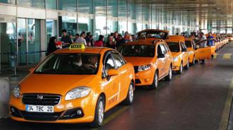 Taksicilerden zam protestosu