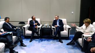 Erdoğan, liderlerle dörtlü zirvede