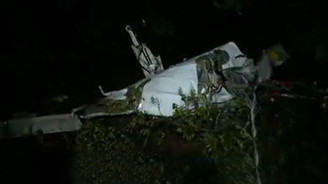 Makedonya'da özel uçak düştü: 6 ölü
