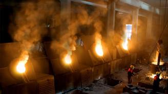 Sanayi üretiminde son 11 yılın en sert düşüşü yaşandı