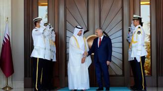 Katar Başbakanı Al Sani Ankara'da