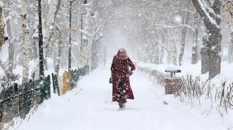 Trakya için yoğun kar uyarısı