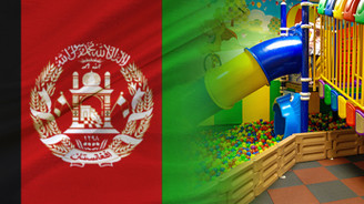 Afganistanlı müşteri oyun parkı ekipmanları satın alacak