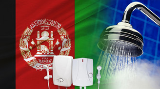 Afganistanlı firma elektrikli şofben ithal etmek istiyor