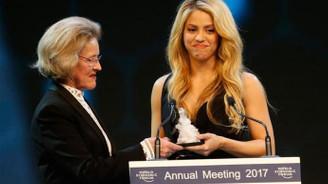 Davos, ödül töreniyle başladı