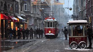 Taksim'de tramvay 6 ay hizmet vermeyecek