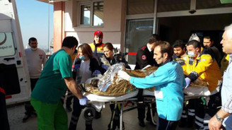 İzmir'de fabrika kazanı patladı
