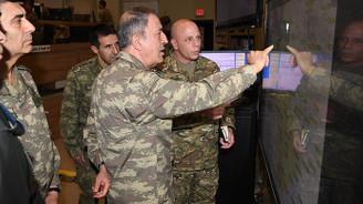 Genelkurmay Başkanı Orgeneral Akar'dan sınırda inceleme