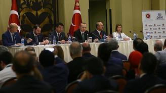 Cumhurbaşkanı Erdoğan, Tanzanya'da Türk iş adamlarıyla buluştu