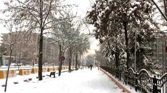 Batman'da kar yağışı etkili oluyor