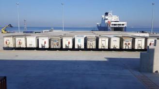 Yalova Ro-Ro Terminali'nden İtalya seferleri başladı