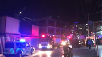 Antalya'da alışveriş merkezi inşaatında iskele çöktü: 6 yaralı