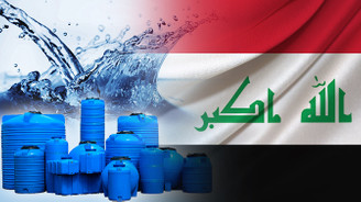 Iraklı firma 50.000 ad. su deposu satın almak istiyor