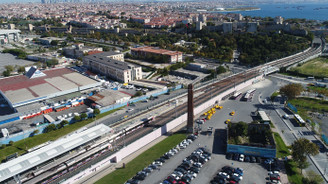 Halkalı Sirkeci tren hattı inşaatında son durum