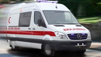 Başkentte doğalgaz patlaması: 1 ölü, 4 yaralı