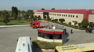 Tekstil fabrikasında 37 işçi hastanelik oldu