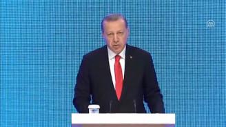 Erdoğan Bakü-Tiflis-Kars Demiryolu hattının açılışında konuştu