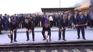 İpek Demiryolu açıldı
