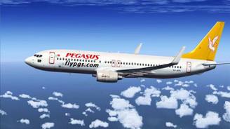 Pegasus uçağı Odessa'ya zorunlu iniş yaptı