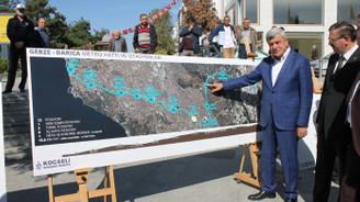 Gebze - Darıca arası metro projesi tamamlandı