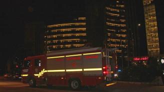 Adana'da 5 yıldızlı otelde yangın