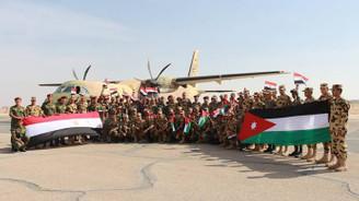 Ürdün'le Mısır ortak askeri tatbikat yapıyor