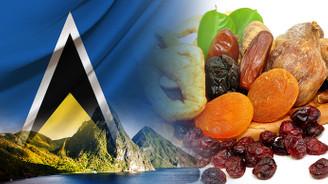 Saint Lucialı müşteri kuru meyveler ithal etmek istiyor