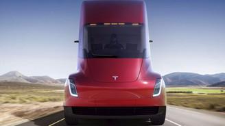 Tesla'nın elektrikli TIR'ı için ilk siparişler geldi