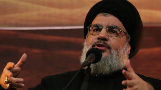 Nasrallah: Sadece Gazze'ye füze gönderdik