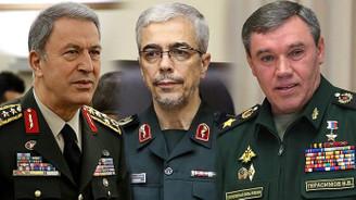 Genelkurmay başkanları Suriye'yi görüştü