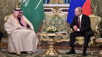 Putin ile Kral Selman görüştü