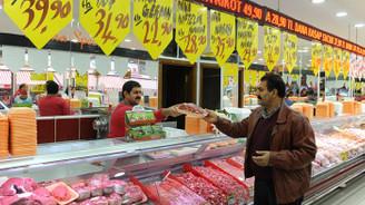 Ucuz et satışı etkili oldu, et fiyatları yüzde 10-15 geriledi