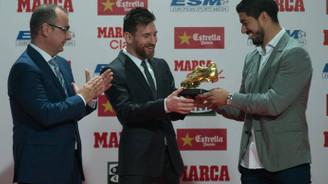 Messi, Altın Ayakkabı ödülüne kavuştu