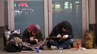 ABD'de evsizlerin nüfusu Türkiye'de 47 şehri geride bırakıyor