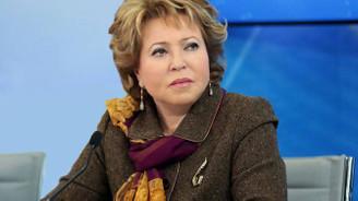 Matviyenko: ABD Rusya'yı Avrupa pazarından uzaklaştırmak istiyor